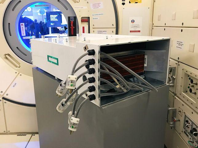 Superkomputer HPE Spaceborne przeszedł testy