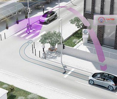 Samochody Volkswagena będą się ze sobą komunikować od 2019 r.