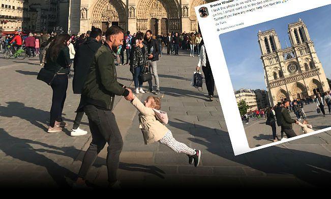 Katedra Notre Dame: wzruszająca historia zdjęcia zrobionego godzinę przed pożarem