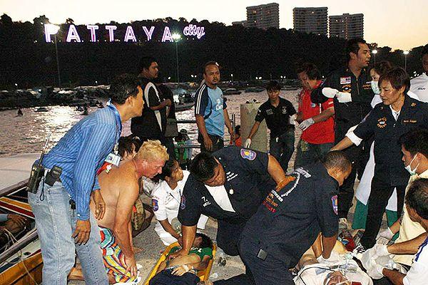 Kapitan promu, który zatonął w Tajlandii, zażył narkotyki