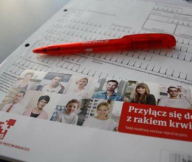 """W Polsce jest już ponad 787 tys. potencjalnych dawców szpiku kostnego. """"To zupełnie inny świat"""""""