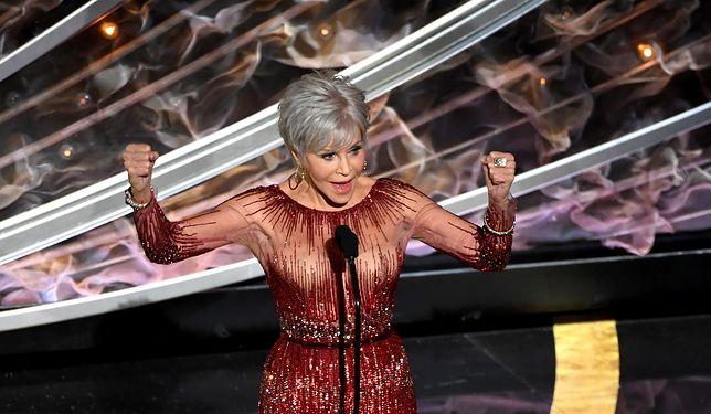 Jane Fonda wręczyła Oscara dla najlepszego filmu,