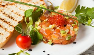 Tatar z ryb - zdrowa alternatywa dla surowego mięsa