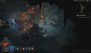 Diablo 4 z długimi filmami z rozgrywki czarodziejką i barbarzyńcą.