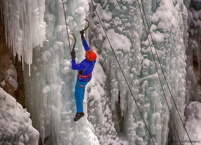 Kolorado - rusza festiwal wspinaczki lodowej
