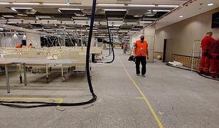 Szpital tymczasowy na Stadionie Narodowym ma być gotowy na początku następnego tygodnia