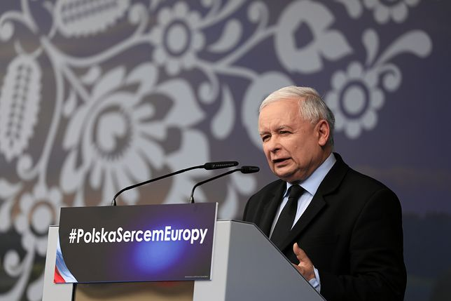 Jarosław Kaczyński: kto podnosi rękę na Kościół, podnosi rękę na Polskę!