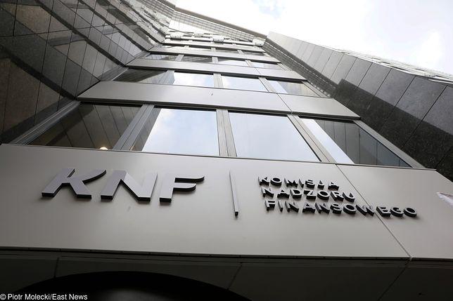 Siedziba Komisji Nadzoru Finansowego (KNF) przy ul. Pięknej 20 w Warszawie