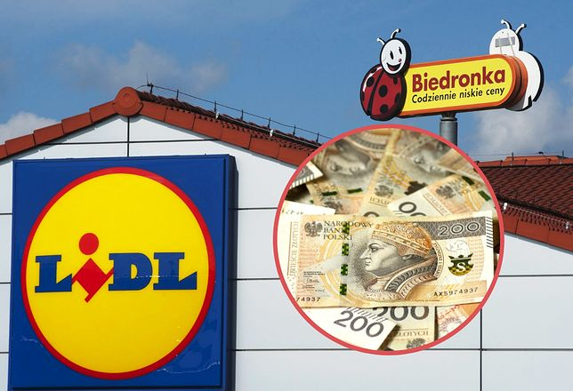 Lidl i Biedronka w 2020 roku podnoszą pensje. Od marca zyskają pracownicy niemieckiej sieci.