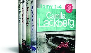 Fjällbacka (1-4). Pakiet Camilla Läckberg t. 1-4 (Wydanie 2). Księżniczka z lodu / Kaznodzieja / Kamieniarz / Ofiara losu