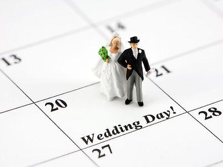 Jaką datę ślubu wybrać?