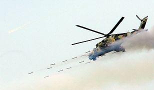 Ukraiński śmigłowiec uderzeniowy Mi-24