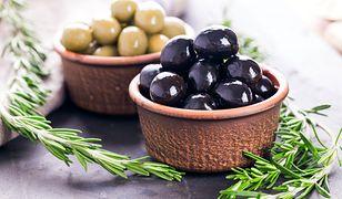 Pyszne dania z oliwkami