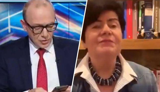 Joanna Senyszyn została przemaglowana przez Grzegorza Jankowskiego w Polsat News