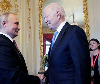 Spotkanie z Genewie. Joe Biden rozmawiał z Władimirem Putinem