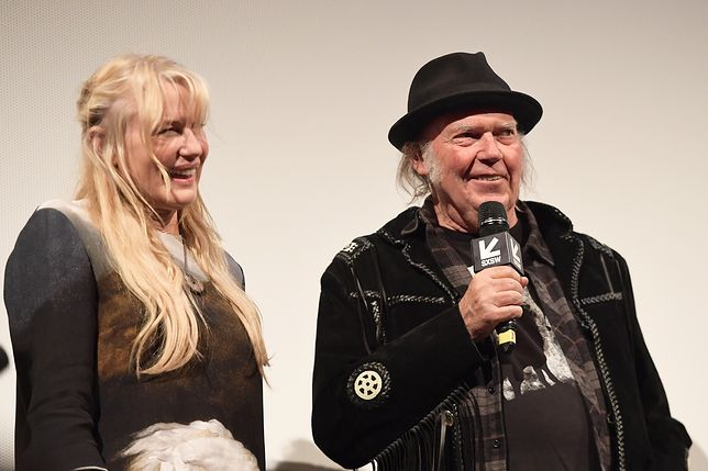 Daryl Hannah i Neil Young