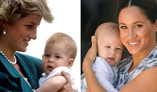 Książę Harry jako dziecko i jego syn - podobni?