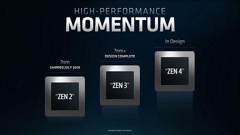AMD Zen 4 pojawi się w 2021 roku, Zen 3 ukończony i datowany na 2020