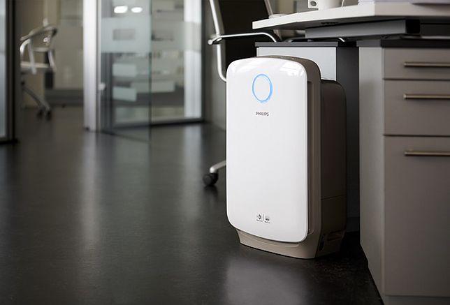O czyste powietrze w twoim domu zadba Philips Combi 2w1