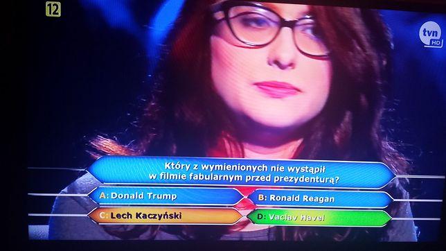 Postawiła na Kaczyńskiego i się pogrążyła. Nie pamiętała, że grał w filmie