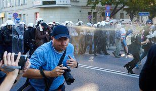 Burdy na Marszu Równości. 8 policjantów rannych. 21 osób zatrzymanych