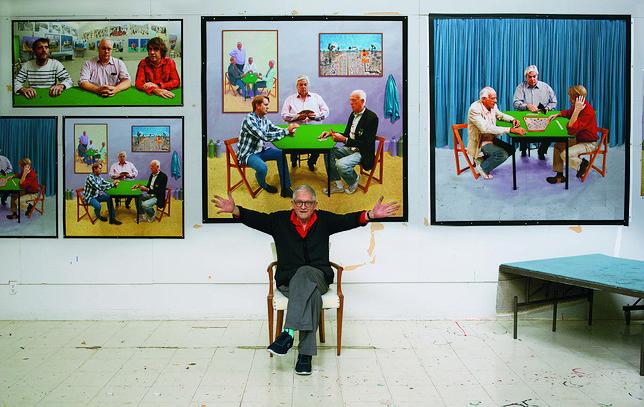 David Hockney - malarz o duszy buntownika