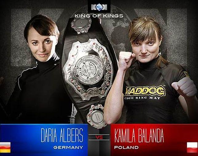 Kamila Bałanda vs. Daria Albers na gali King of Kings World GP