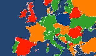 Otwarcie granic. Ministerstwo Spraw Zagranicznych publikuje specjalną mapkę