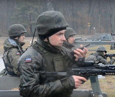 Polscy i węgierscy żołnierze ćwiczą przed wylotem na misję do Libanu