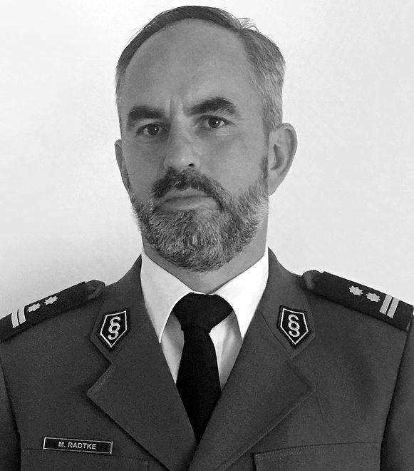 Zmarł komendant powiatowy policji w Iławie Marcin Radtke (Źródło: KPP w Iławie)