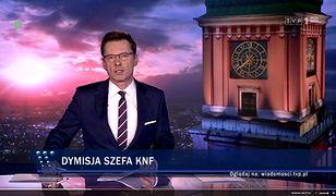 """""""Wiadomości"""" TVP nie przemilczały afery w KNF, ale przedstawiły ją na swój sposób"""