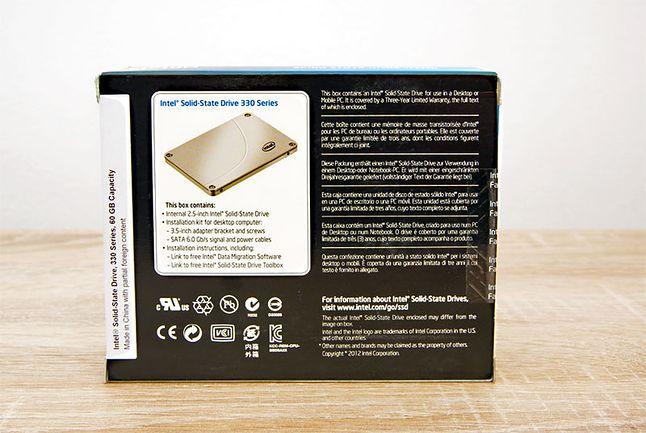 Intel® SSD 330 Series (60GB, SATA 6Gb/s, 25nm, MLC) SSDSC2CT060A3K5