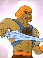 He-Man z serialu animowanego