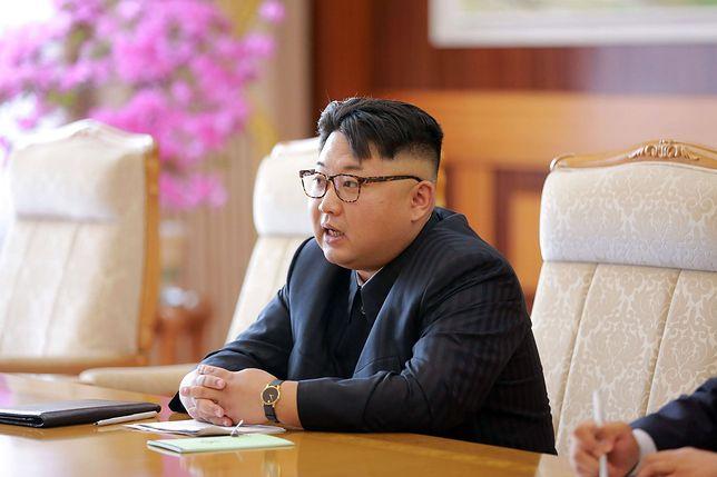 Kim Dzong Un: próba balistyczna była udana