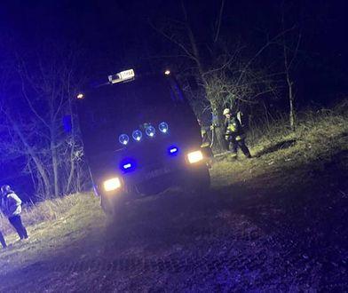 Śląskie. Pożar odpadów chemicznych na terenie dawnej kopalni Morcinek w Kaczycach. W akcji brakło udział kilkanaście zastępów straży pożarnej