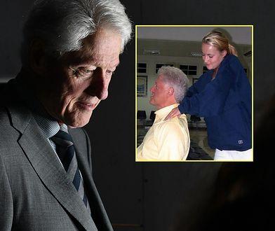 Clinton i masażystka - Chauntae Davis. Niewygodne zdjęcie