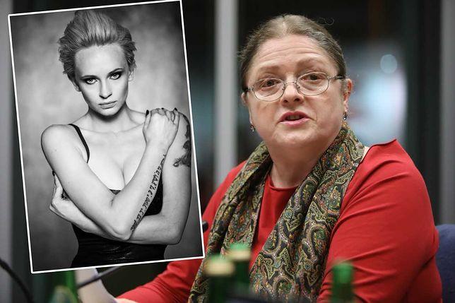 Krystyna Pawłowicz pozwana przez byłą kochankę posła PiS. Izabela Pek chce 40 tys. złotych i przeprosin