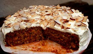 Ciasto pietruszkowo - kokosowe