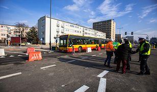 Warszawa. Otwarcie Górczewskiej na Woli w związku z zakończeniem etapu prac przy budowie drugiej linii metra, styczeń 2020 r.
