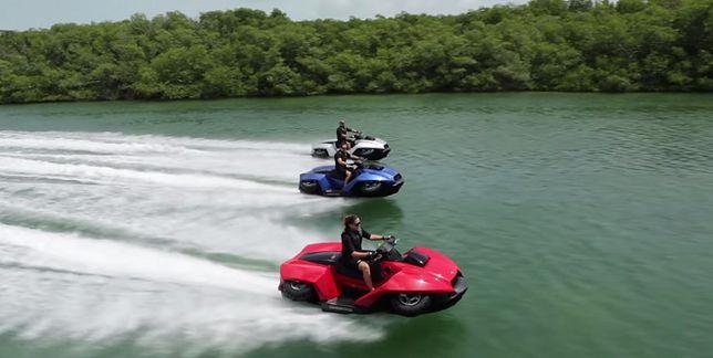 """Quadski: nowa """"zabawka"""" amerykańskiej policji - quad i motorówka w jednym"""