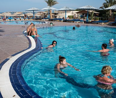 Egipt jako jedyny z bliskich kierunków oferuje wysoką temperaturę i hotele, w których aquaparki są otwarte cały rok