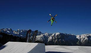Monte Bondone 20 km od Trydentu to raj dla snowboardzistów