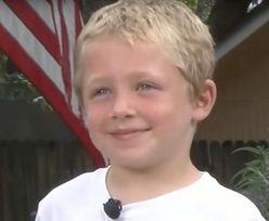 7-latek został bohaterem. Udało mu się uratować życie taty i siostry