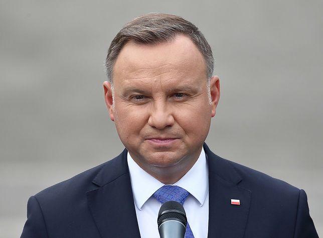 """""""Andrzej Duda, potocznie zwany Prezydentem Polski..."""" - pisze Paweł Lęcki"""