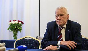 Kornel Morawiecki, szef Wolnych i Solidarnych