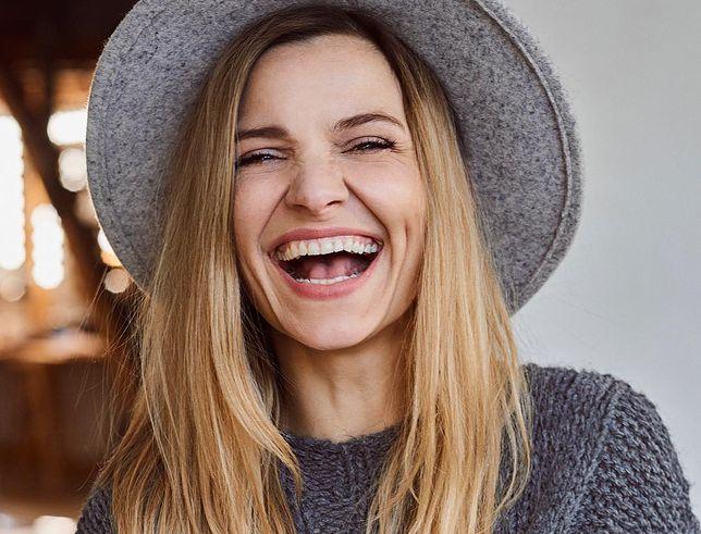 Joanna Koroniewska pokazała się bez makijażu