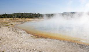 USA. Mężczyzna chciał ugotować kurczaka w gorących źródłach Yellowstone