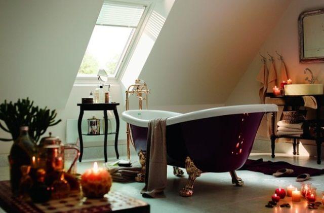 Kąpiel pod gwiazdami - optymalna wysokość okna