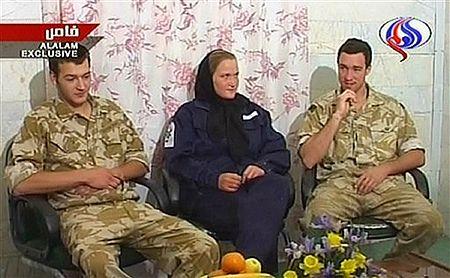 Brytyjscy marynarze dziękują za uwolnienie w irańskiej TV