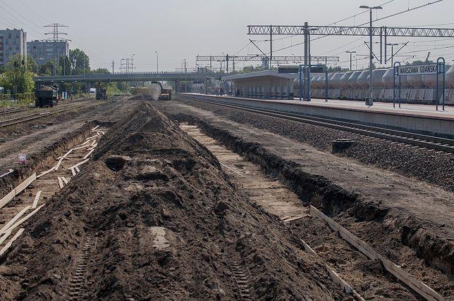 Inwestycja za 53 mln zł. Ruszyła rozbudowa stacji Warszawa Gdańska